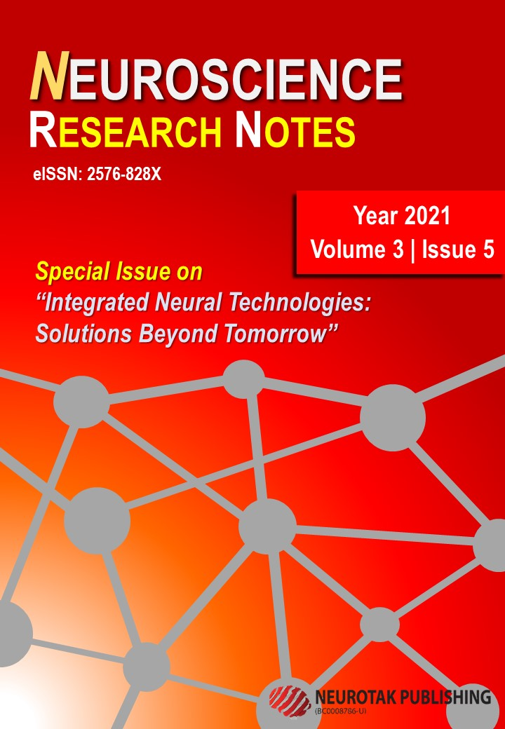 """View Vol. 3 No. 5 (2021): Special Issue on """"Integrated Neural Technologies: Solutions Beyond Tomorrow"""""""